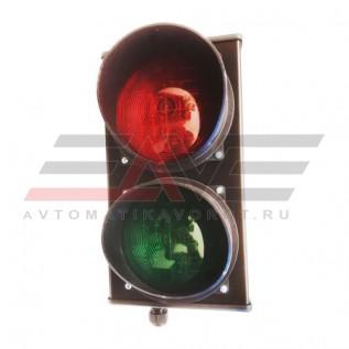 Светофор CAME светодиодный, 2-секционный, красный-зелёный, 24 В