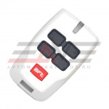 Брелок-передатчик Mitto B RCB White, ролинг-код, 4х канальный, 433МГц, белый глянцевый корпус