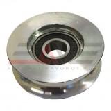Колесо, D80, осевое крепление, макс. нагрузка на колесо до 150 кг