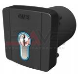 Ключ-выключатель CAME встраиваемый SELD2FDG с цилиндром замка DIN и синей подсветкой