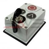 Панель управления FAAC XB300 3х кнопочная с ключом, настенный монтаж