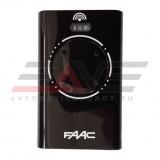 Брелок-передатчик FAAC XT4 868 SLH LR (черный)