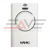 Брелок-передатчик FAAC XT2 433 SLH LR (белый)