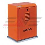 Комплект привода на масляной ванне Faac 884 MC 3PH для откатных ворот массой до 3500 кг