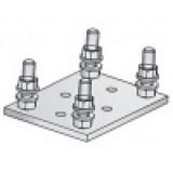 Подставка SG.02.200 для роликовой опоры системы SG.02 до 700 кг